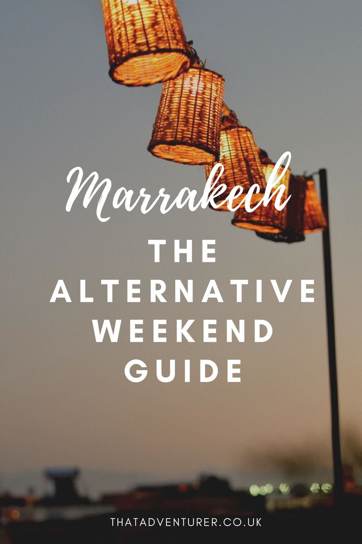 Avoid the overly crowded (and overrated) sights in Marrakech and head to these alternative, but awesome places in Marrakech. This is your alternative weekend guide to Marrakech, Morocco