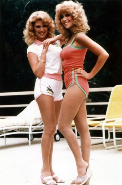 audrey and judy landers   these guys were big on the love