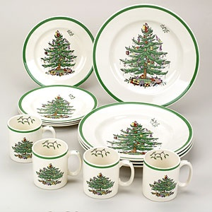 Spode Christmas Tree will always remind me of growing up and my lovely mom @Linda Beck <3