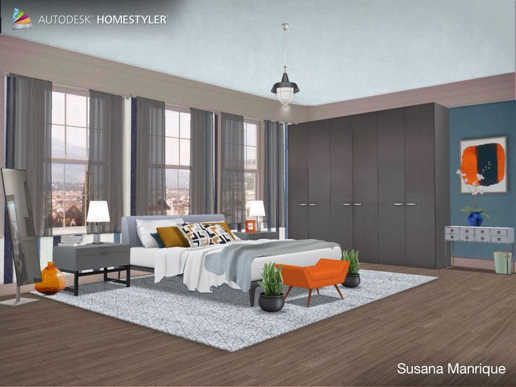 "Eche un vistazo a mi #diseño interior ""Dormitorio 5"" de #Homestyler http://www.homestyler.com/mobile"