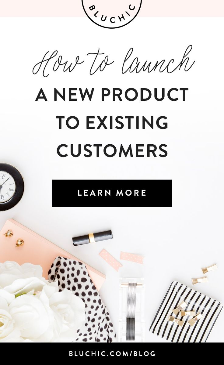 How To Launch A New Online Shop Product To Existing Customers