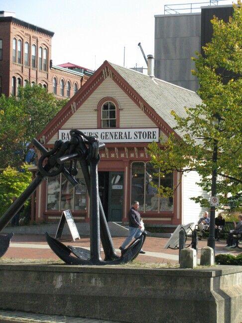 Barbor's General Store, St. john, New Brunswick