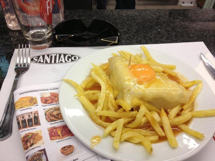 Francesinha Café Santiago, Porto - Mar 2014
