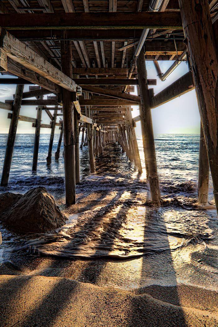 San Clemente Pier Sunset, California