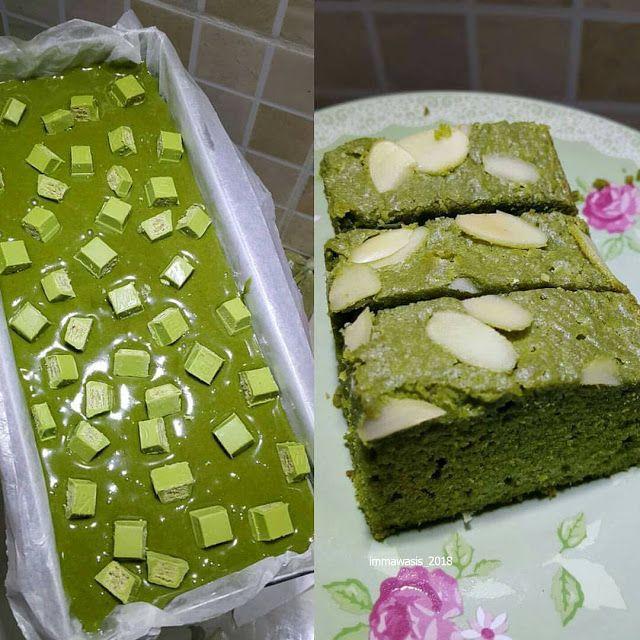 Resep Brownies Matcha By Immawasis Resep Aneka Jajan Pasar Pewarna Makanan Bubble Tea Matcha