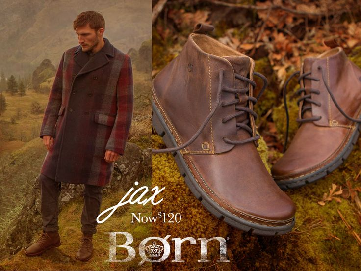 Great for that man in your life! #jax #bornshoes