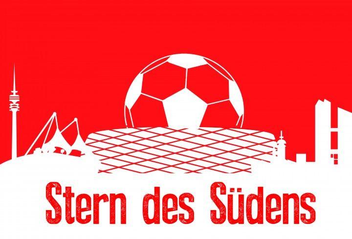FC Bayern München Betonplatte.