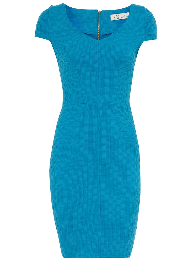 Turquoise cross-hatch dress.: Turquoise Dress, Beautiful Colors, Pretty Colors