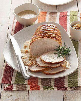 Roast turkey breast with mustard | Ricetta Arrosto di fesa di tacchino alla senape | Donna Moderna