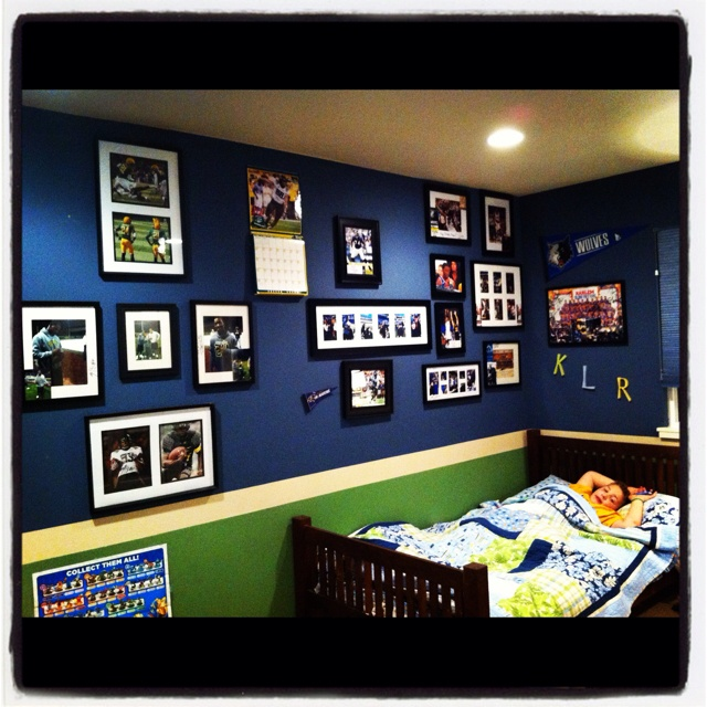 Seahawk Bedroom With Accent Wall: 50 Best Seahawk Room Mancave Images On Pinterest