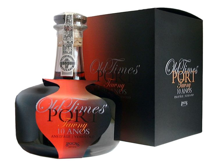 Poças Porto Old Times 10 Years Old decanter