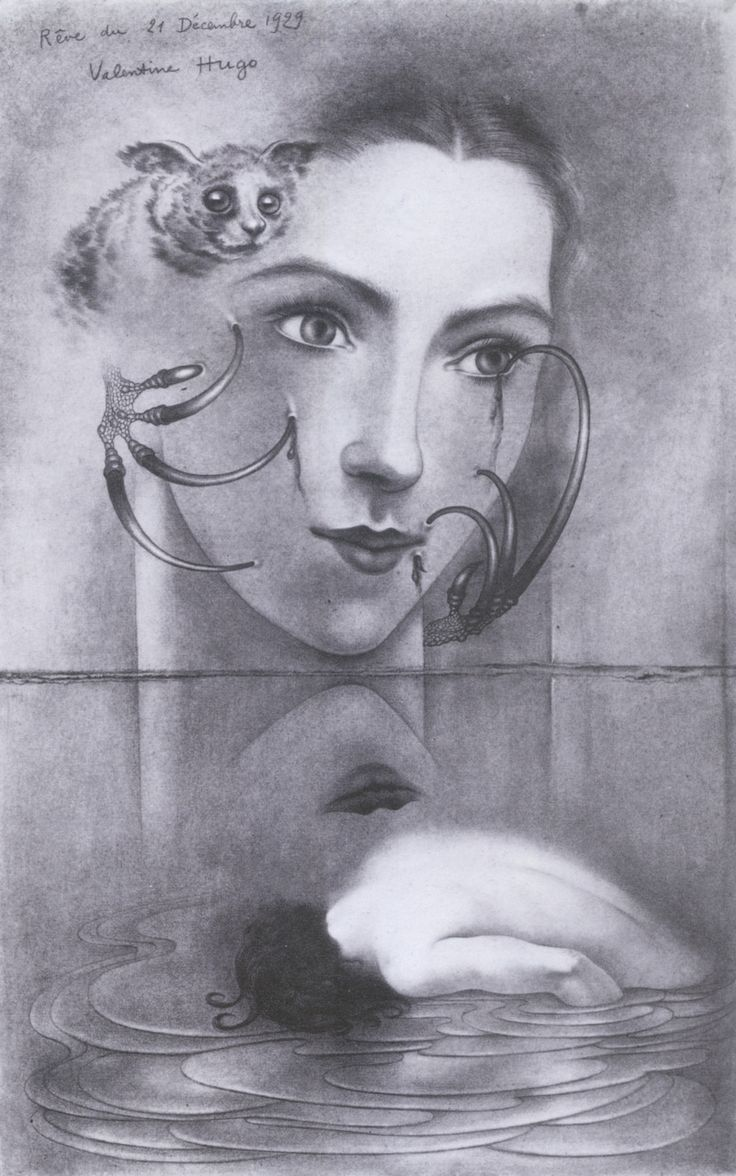 Valentine Hugo,Dream of 21 December 1929 1929.