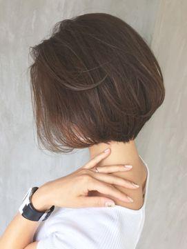 アッシュとろみショートボブ_ba80531 - 24時間いつでもWEB予約OK!ヘアスタイル10万点以上掲載!お気に入りの髪型、人気のヘアスタイルを探すならKirei Style[キレイスタイル]で。