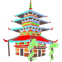 Use Stencils for Walls' Chinese Temple Stencil for scrapbooking, DIY wall art or to bring colour to your walls. Stencilling is an effective and versatile way to customize any flat surfaces you may have. Our stencils are cheap and easy to use and also offer impeccable quality.