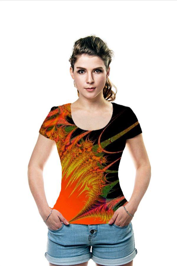 #OArtTee - T-Shirt 'Oriental' is designed by artist Elena Indolfi