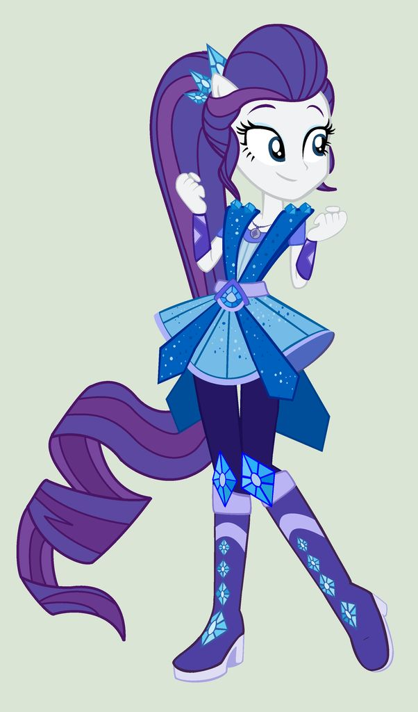 #1264547 - alternate hairstyle, artist:yulianapie26, clothes, dress, equestria girls, fist, legend of everfree, pants, pony ears, rarity, safe, simple background, smiling, solo, spoiler:legend of everfree, super ponied up, vector - Derpibooru - My Little Pony: Friendship is Magic Imageboard