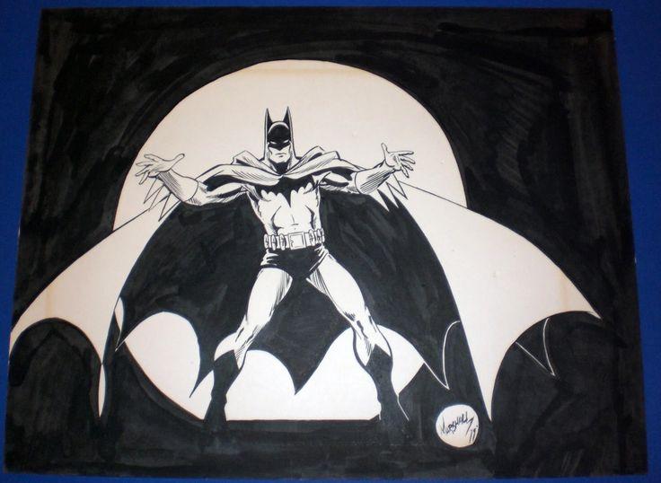I love Marshall Rogers' angular Batman!