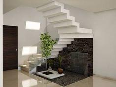 Resultado de imagen para jardin debajo de escaleras