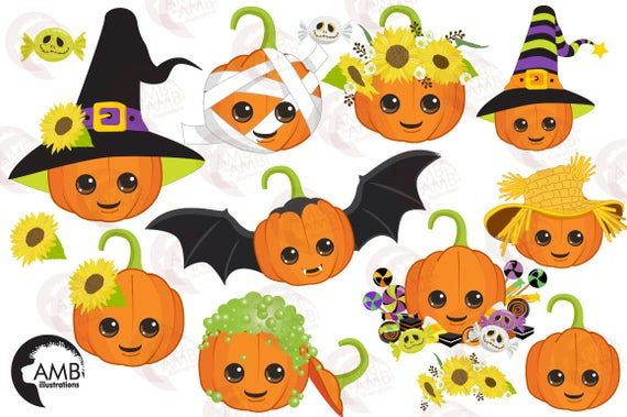 Pumpkin Clipart Cute Pumpkin Clipart Halloween Clipart Etsy In 2021 Cute Pumpkin Halloween Clipart Pumpkin Clipart