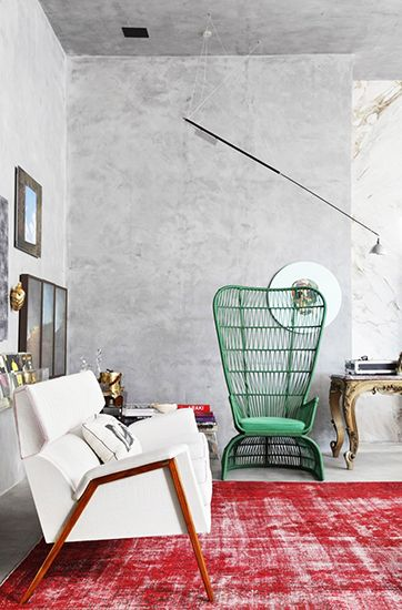eclectic seating