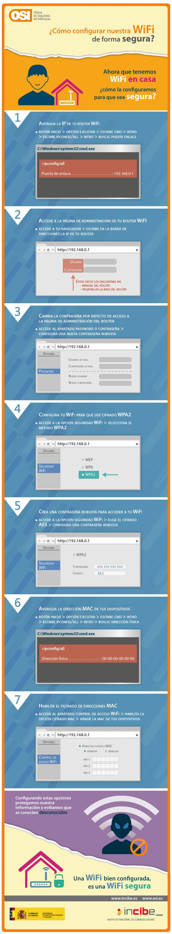 7 pasos para asegurar tu wifi #seguridad #wifi