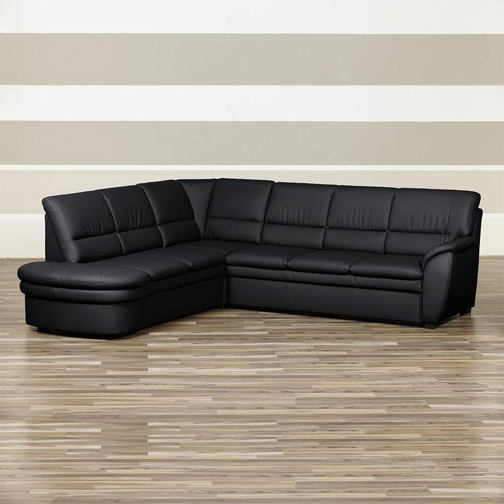 Eckcouch in Schwarz Schlaffunktion und Bettkasten Jetzt bestellen unter: https://moebel.ladendirekt.de/wohnzimmer/sofas/ecksofas-eckcouches/?uid=c34ee9c6-d956-589d-b548-ce799e1fcb56&utm_source=pinterest&utm_medium=pin&utm_campaign=boards #ledercouch #sofa #couch #ecksofaseckcouches #funktionsecke #wohnl #sofas #schlafcouch #ledersofa #schaft #schlafsofa #ecksofa #wohnzimmer #eckcouch #polsterecke
