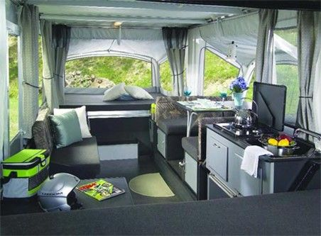pop+up+camper+interiors | RV 2007 FLEETWOOD FOLDING TRLRS. E3-4137 prices, specs and options