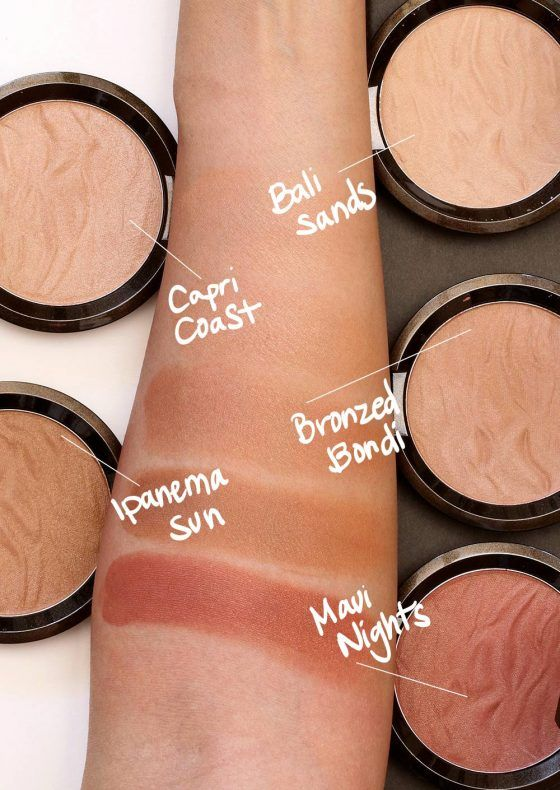 The New BECCA Sunlit Bronzers: Are they powders? Are they creams? http://www.makeupandbeautyblog.com/becca-3/becca-sunlit-bronzer-review/ #MakeupCafe