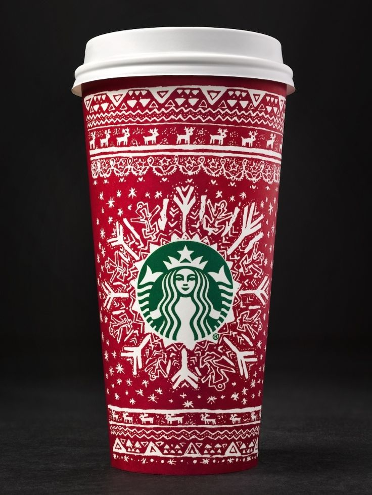 Starbucks' red Christmas cups are here. And so therefore is Christmas. For the first time ever, Starbucks are releasing a range of red cups designed by their customers, with thirteen different red cup designs.