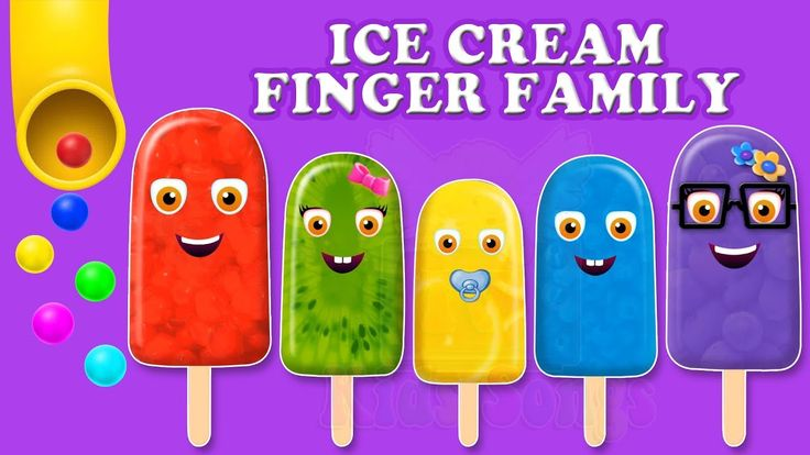 Finger Family Ice Cream Song | Top 10 Ice Cream Finger Family Song | Dad...