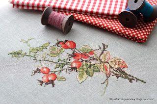Осенний шиповник от Марья Искусница