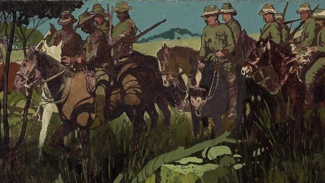 Blamire Young - VIIth Australian Light Horse Victorian Mounted Rifles (1904)