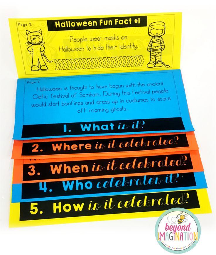 Halloween Flip Book | No Prep | No Fuss | No Scissors | No Glue | Flipbook
