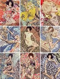 Image result for fashion editorial lady landscape layout