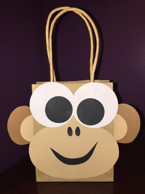 Party Favor Gift Bag / Goodie Bag / Treat Bag / by LoveMischka