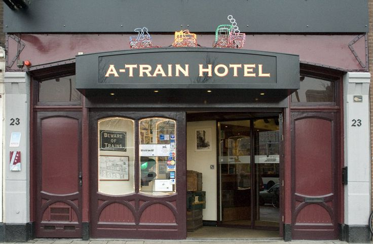 The A-Train Hotel is a unique 3 star hotel with a train-theme. Located in Amsterdam City Centre.