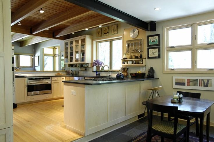 Hot To Light A Post And Beam Kitchen