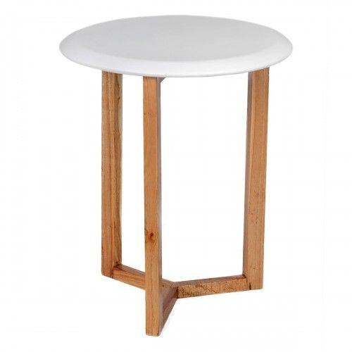 Kaimana   meja kayu jati desain skandinavia unik interior rumah kafe interior design