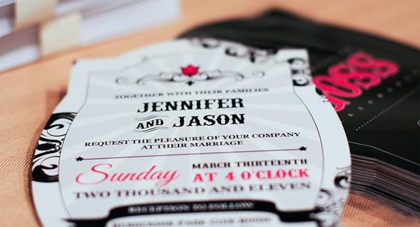 Creative invitation design ideas