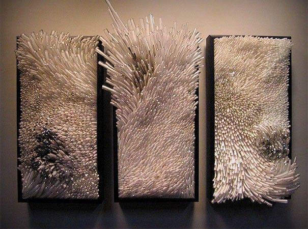 sculptures verre , univers marin  artiste Shayna Leib Etats Unis