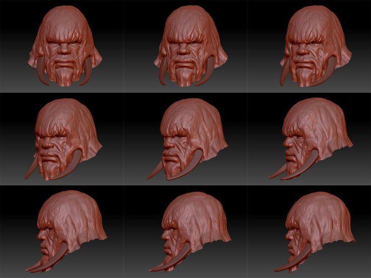 Fanatic Games - 3D graphics 3D model character sculpt