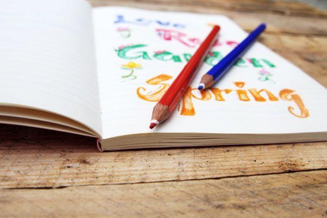Hand Lettering, Hand Writing... oder Bine übt schreiben! - 'was eigenes' - DIY - Erlebtes - Kulinarisches - Gelesenes