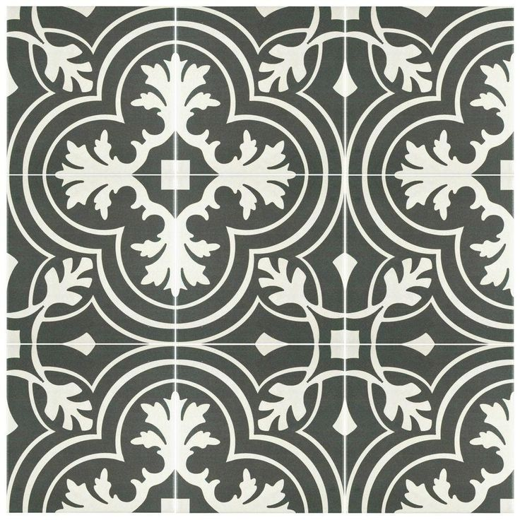 Merola Tile Twenties Classic 7 3 4 In X 7 3 4 In Ceramic Floor And Wall Tile 11 Ceramic