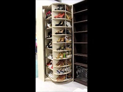 1000 ideas about shoes organizer on pinterest shoe for Zapateras giratorias para closet