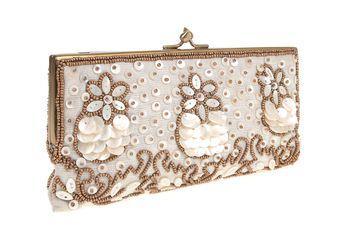 PrettyCoolBags bridal framed clutch moyna
