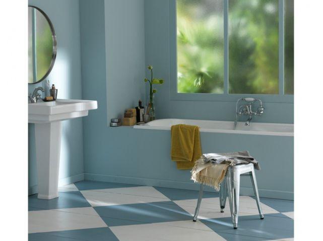 17 meilleures id es propos de salles de bains bleu jaune - Salle de bain jaune et bleu ...