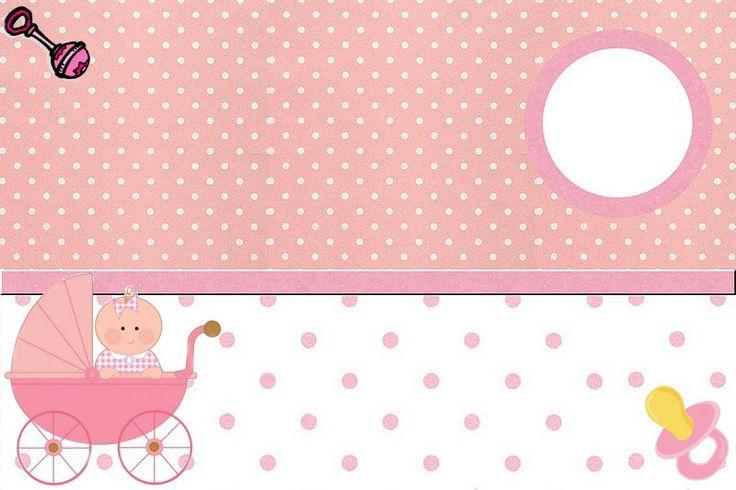 De Bebe Ch&225 Baby Carrinho Para Convit Clipart D 1Convite1