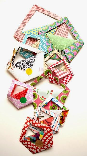 Origami Maniacs: Cute Origami Bag