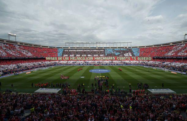 Último partido del Atleti en el Calderón
