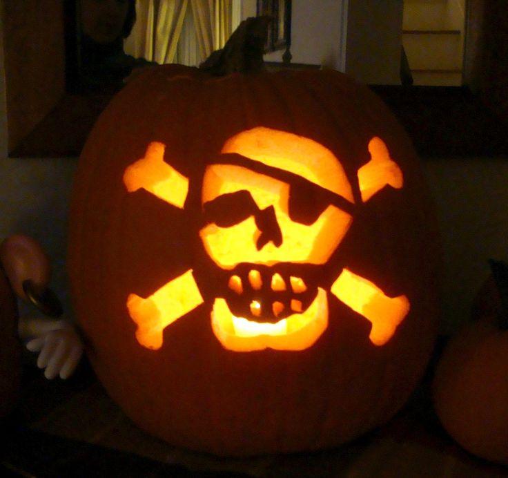16 Best Pirate Jack O Lantern Ideas Images On Pinterest